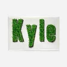 Kyle Grass Rectangle Magnet