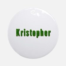 Kristopher Grass Round Ornament