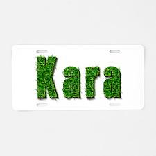 Kara Grass Aluminum License Plate