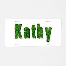 Kathy Grass Aluminum License Plate