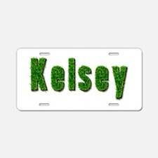 Kelsey Grass Aluminum License Plate