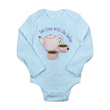 With The Ladies Long Sleeve Infant Bodysuit