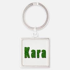 Kara Grass Square Keychain
