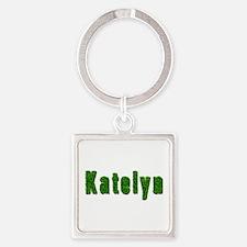 Katelyn Grass Square Keychain