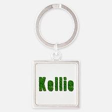 Kellie Grass Square Keychain