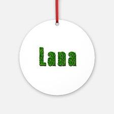 Lana Grass Round Ornament