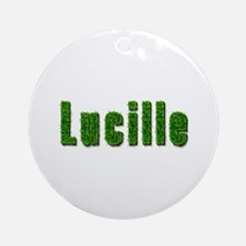 Lucille Grass Round Ornament
