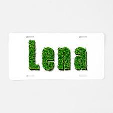 Lena Grass Aluminum License Plate