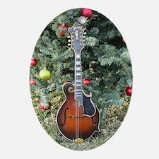 Gibson Mandolin Under Christmas Tree Ornament