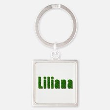 Liliana Grass Square Keychain