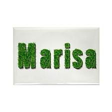 Marisa Grass Rectangle Magnet
