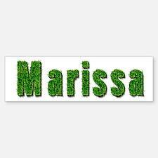 Marissa Grass Bumper Bumper Bumper Sticker