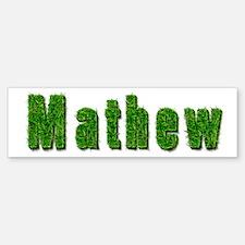 Mathew Grass Bumper Bumper Bumper Sticker