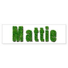 Mattie Grass Bumper Bumper Bumper Sticker