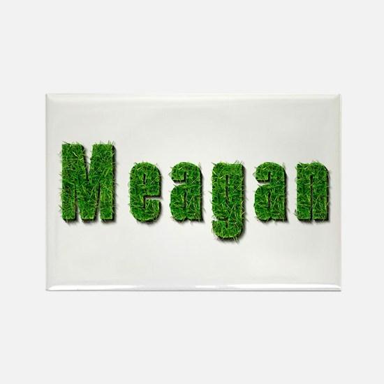 Meagan Grass Rectangle Magnet
