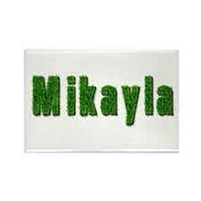 Mikayla Grass Rectangle Magnet