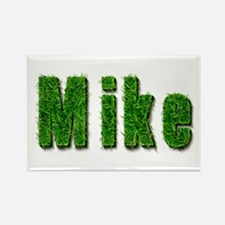 Mike Grass Rectangle Magnet