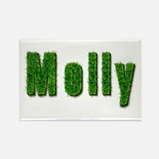 Molly Grass Rectangle Magnet