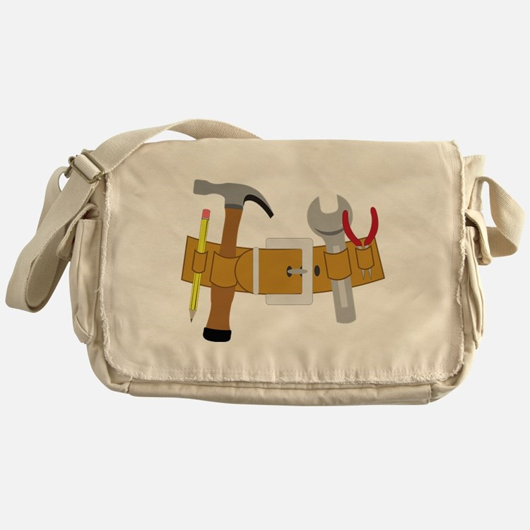 Handyman Tools Messenger Bag