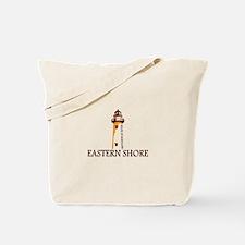 Eastern Shore MD - Lighthouse Design. Tote Bag