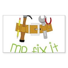 Mr. Fix It Decal