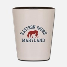 Eastern Shore MD - Ponies Design. Shot Glass