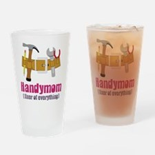 Handymom Drinking Glass