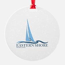 Eastern Shore MD - Sailboat Design. Ornament