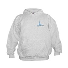 Eastern Shore MD - Sailboat Design. Hoodie
