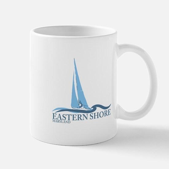 Eastern Shore MD - Sailboat Design. Mug