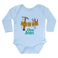 Odd Jobs Long Sleeve Infant Bodysuit