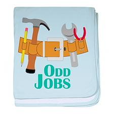 Odd Jobs baby blanket