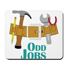 Odd Jobs Mousepad