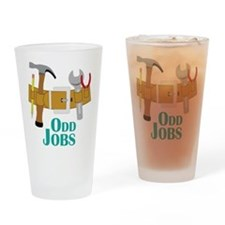 Odd Jobs Drinking Glass