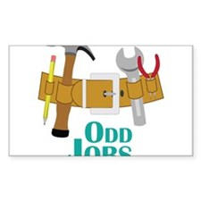Odd Jobs Decal
