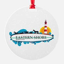 Eastern Shore MD - Surf Design. Ornament