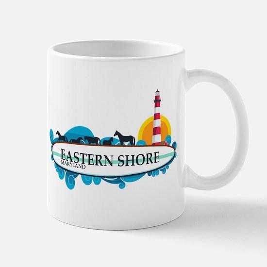 Eastern Shore MD - Surf Design. Mug
