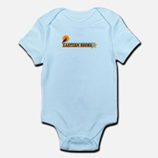Eastern Shore MD - Beach Design. Infant Bodysuit