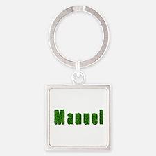 Manuel Grass Square Keychain