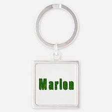 Marlon Grass Square Keychain