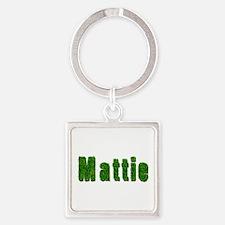 Mattie Grass Square Keychain