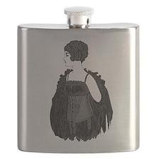 1920 Flapper Corset Flask
