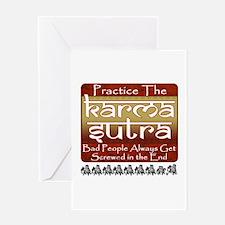 Karma Sutra Greeting Card