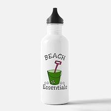 Beach Essentials Water Bottle