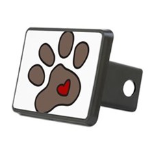 Puppy Paw Hitch Cover