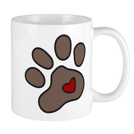 Puppy Paw Mug
