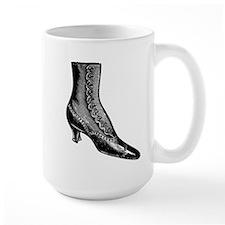 Victorian Lady's Shoe Mug