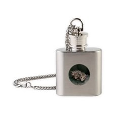 Baby Possum Flask Necklace