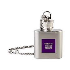 TORTURE... Flask Necklace