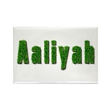 Aaliyah Grass Rectangle Magnet